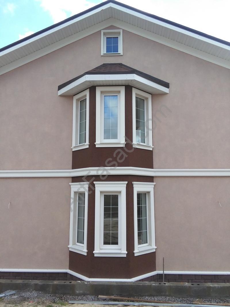 Производство, монтаж фасадного декора в Киеве и области