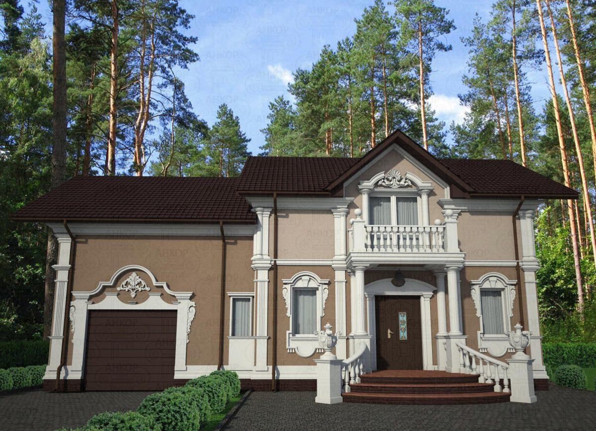 Классическая фасадная угловая пилястра - Внешняя отделка углов дома