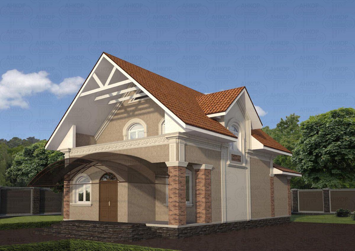 Отделка фасада дома фото