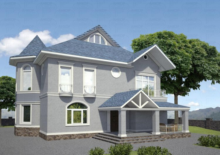 Crown Molding Installation | House Exterior | Home, Pictures, Photos, Images, Gallery, 3D Max, V-Ray, Sketch Up, Render, Visualization, Graphics