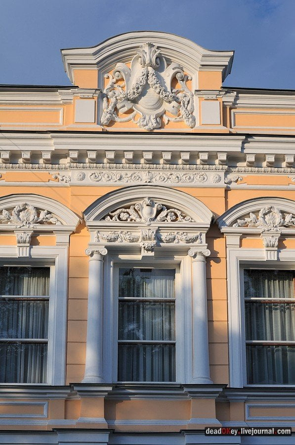 Pseudo-Russian style in architecture is a photo