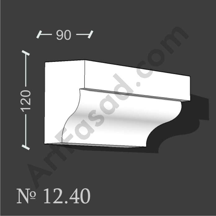 Декоративный подоконник обрамление облицовка отделка окна снаружи № 1240