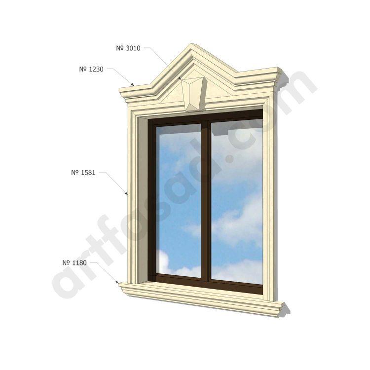 Foam trim around windows