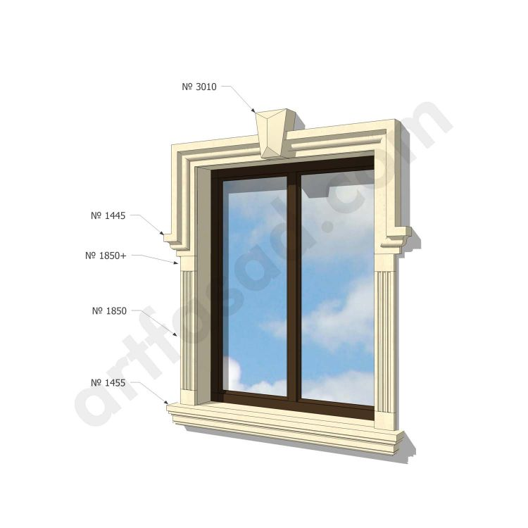 Exterior window casing