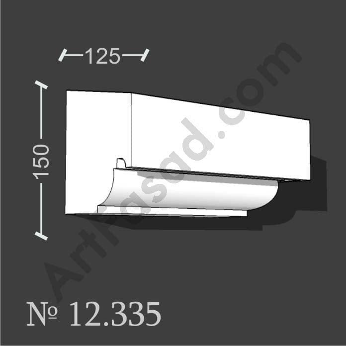 Декоративный подоконник обрамление облицовка отделка окна снаружи № 12335