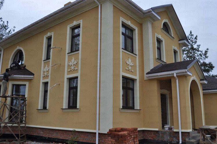 Фасадные работы цена киев | Фото Галерея Работ