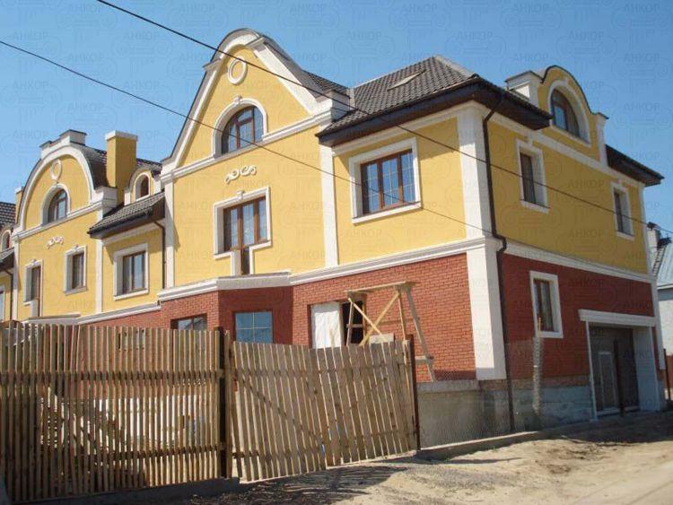 Кольорове рішення фасадів приватних будинків | Фото Галерея робіт