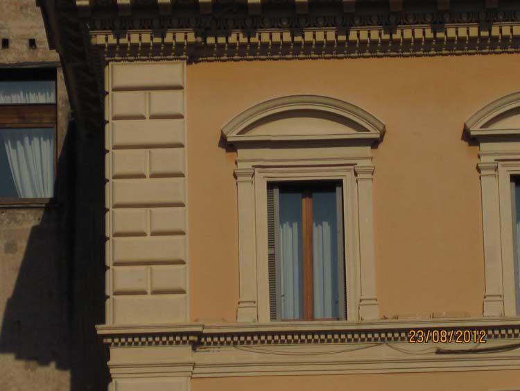 Красивые фасады городских зданий, фото