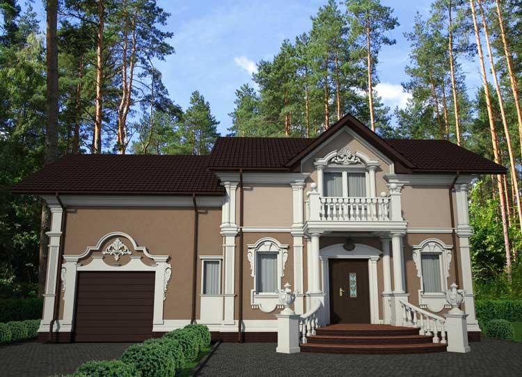 Фасад дома фото