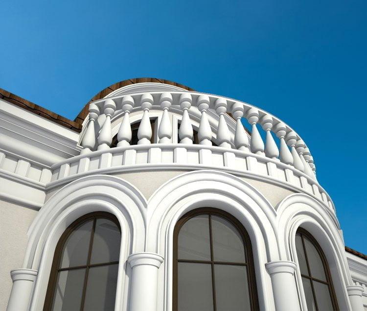 Фасады частных домов | Фото, фотогалерея, изображения, картинки, модели, модель, работы, работа | 3D визуализация, рендеринг, 3Ds MAX, Скетч Ап, SketchUp, V-Ray, Вирей