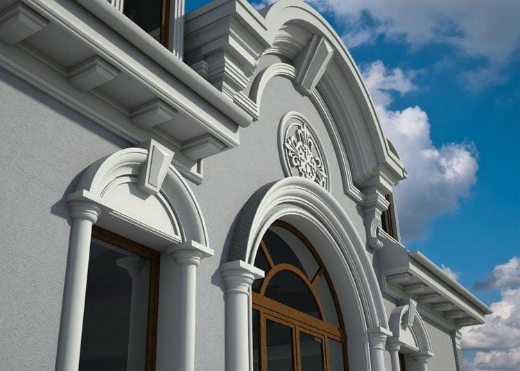 Decoration facade maison contemporaine