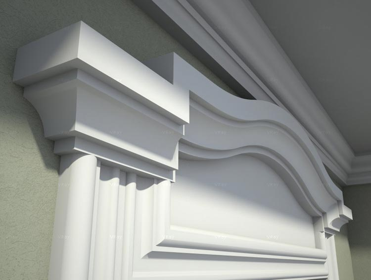 Modern Exterior Window Trim Ideas | House Exterior | Pictures, Photos, Images, Gallery, 3D, Visualization, Graphics