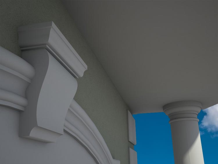 Outside Window Trim Ideas For Houses   House Exterior   Pictures, Photos, Images, Gallery, 3D, Visualization, Graphics