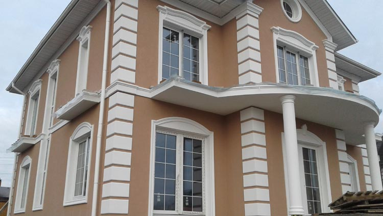 Exterior Architectural Trim | House Exterior | Pictures, Photos, Images, Gallery, 3D, Visualization, Graphics
