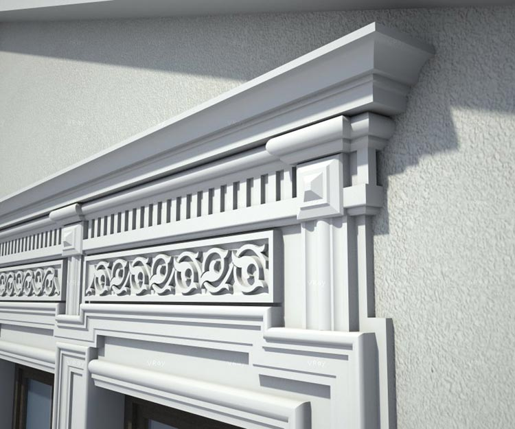 Sketchup Library Of Architectural Decoration 350 Models