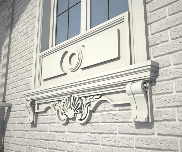 Современная отделка фасадов частных домов