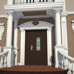 Front Door Design | House Exterior | Home, Pictures, Photos, Images, Gallery, 3D Max, V-Ray, Sketch Up, Render, Visualization, Graphics