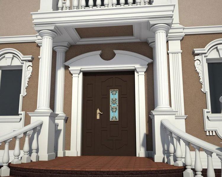 Main Door Design Front Wooden Modern Doors House