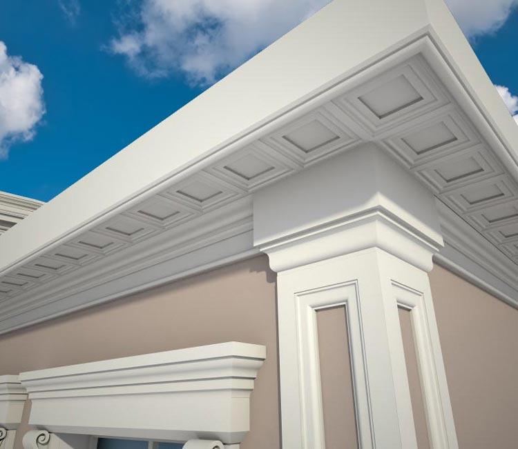 Отделка фасадов домов фото декоративная штукатурка   SketchUp, Скетч Ап работы, модели