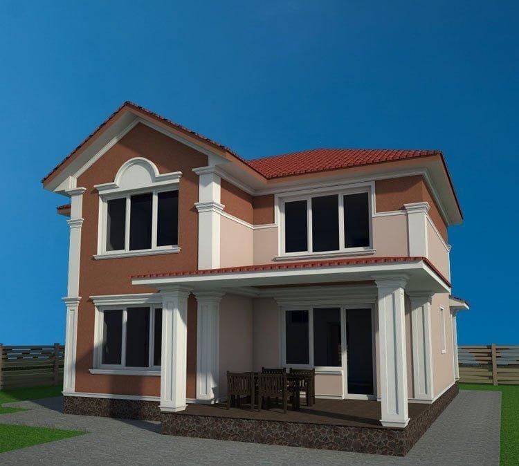 Картинки домов красивых