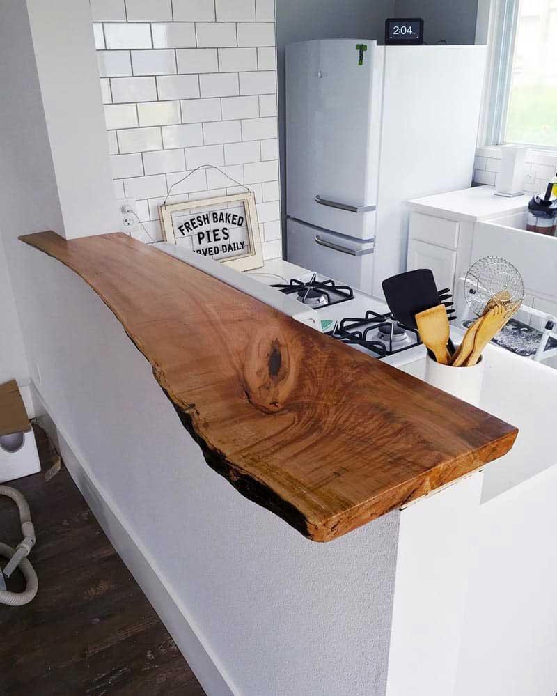53+ Идей дизайна Барной Стойки ~ Полуостров (остров) для Кухни ~ Фото решения