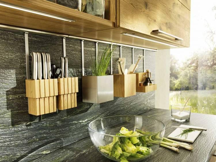 Аксесуари на кухні в стилі лофт - фото