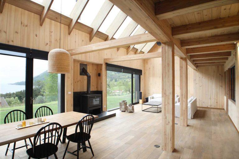 techos altos de madera