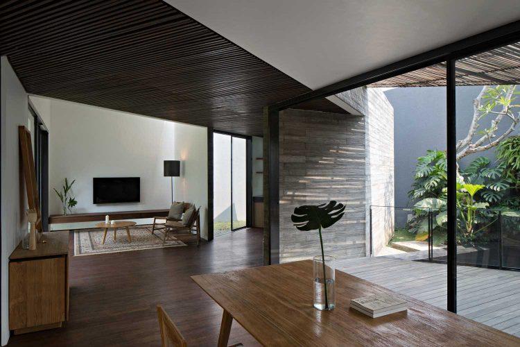 План современного одноэтажного дома