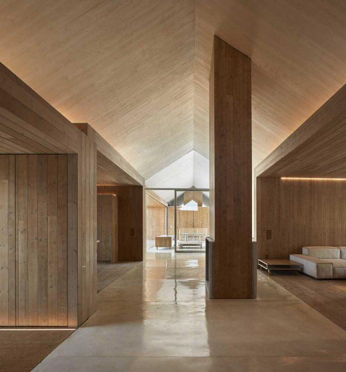 Современные проекты одноэтажных домов в стиле минимализм