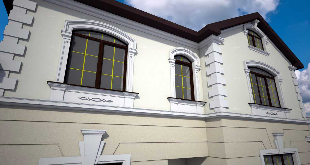 Фасады домов декоративная штукатурка фото