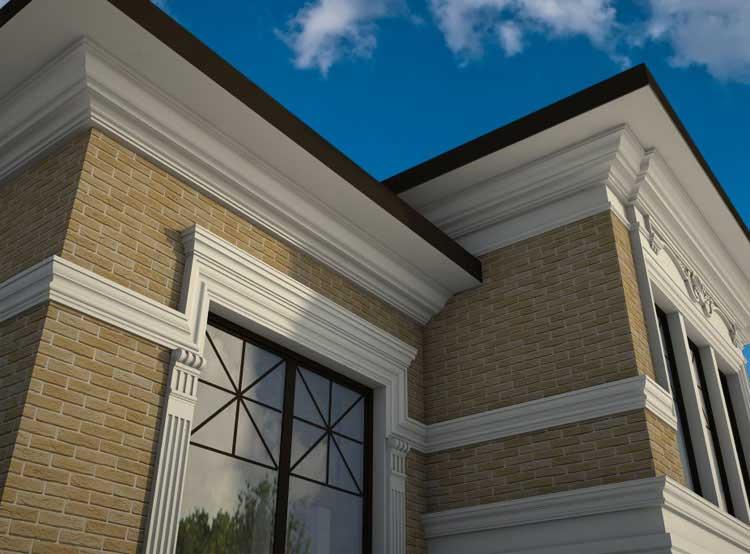 Внешний фасад дома