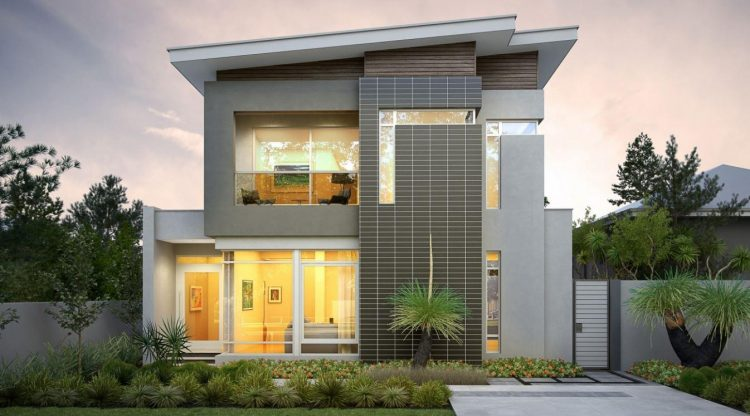 Two storey residential house