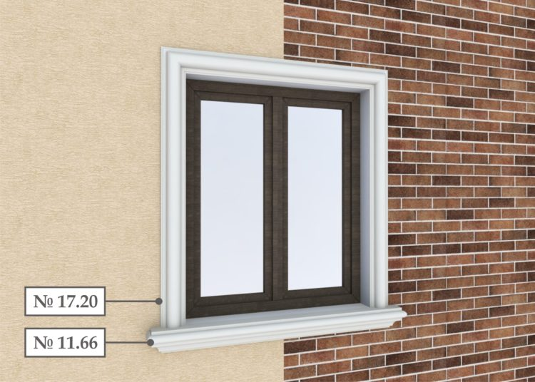 Foam Exterior Window Trim