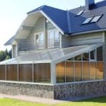 Inexpensive House Exterior with Polycarbonate