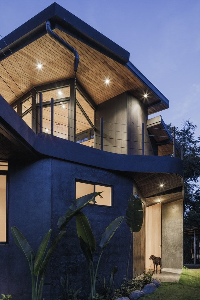 large roof House