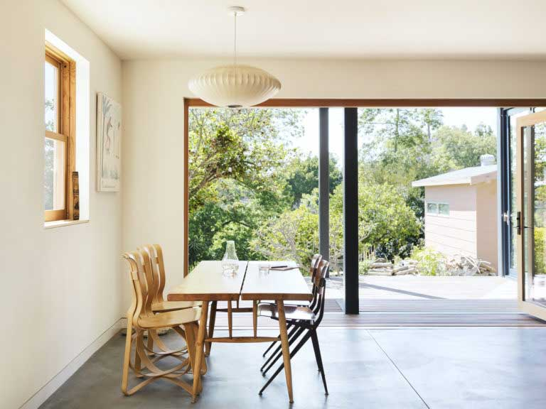 beautiful extension terrace veranda to the house photo