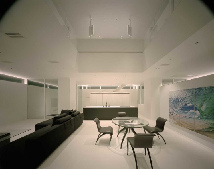 интерьер частного дома в стиле минимализм