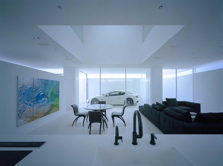 interiors of houses in the style of minimalism photo projects of single-storey houses in the style of minimalism