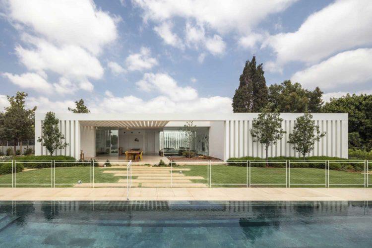 Одноэтажный Дом Куб фото дизайн фасад экстерьер интерьер ландшафт проект планировка