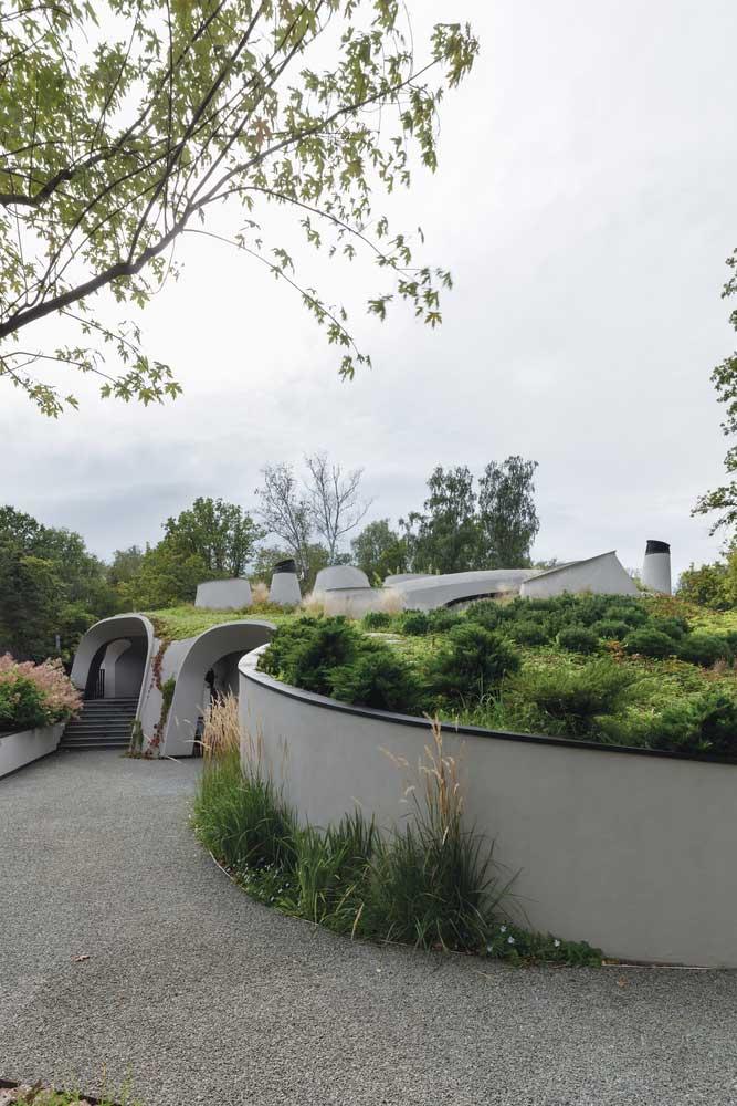 organic facade architecture