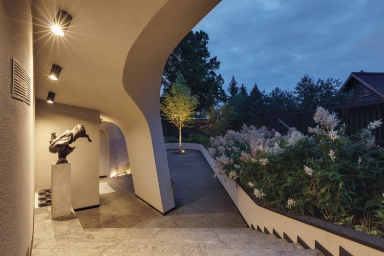 organic architecture buildings