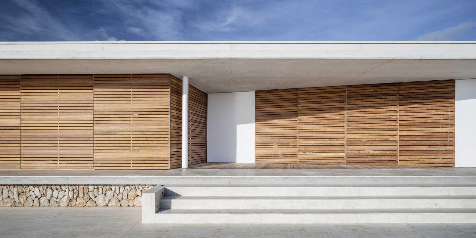 revestimiento de muros exteriores