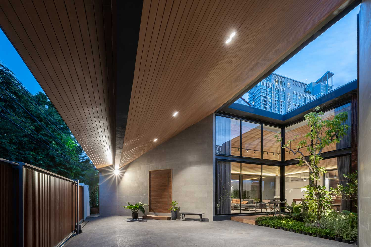 House Roof Design as the Main Architectural Element that gives charm to the whole Building