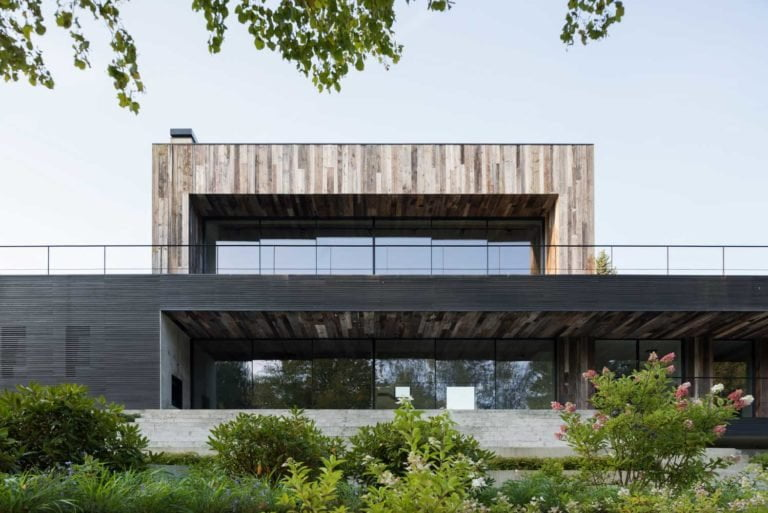 fachadas de edificios minimalistas