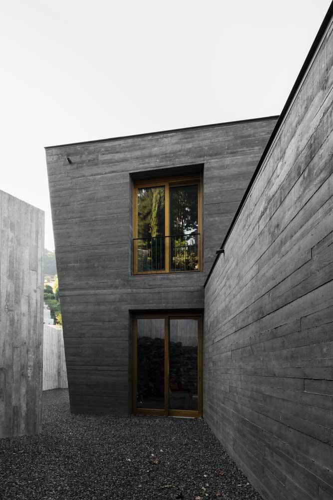 Béton Noir [50+ photos] Une solution moderne en architecture et design