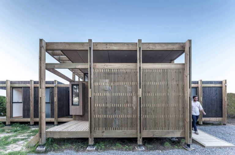 Modern prefabricated wooden houses photo, images, design, ideas, plan, layout, facade, exterior, interior, landscape, courtyard, decoration, cladding