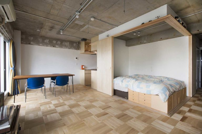 Storage Space in a Small Apartment - Examples with Photos