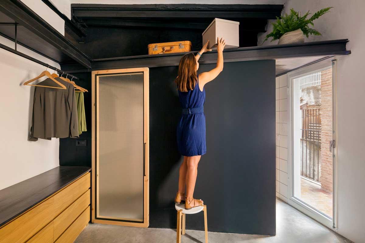 Lieux de Stockage dans un Petit Appartement – Exemples avec Photos