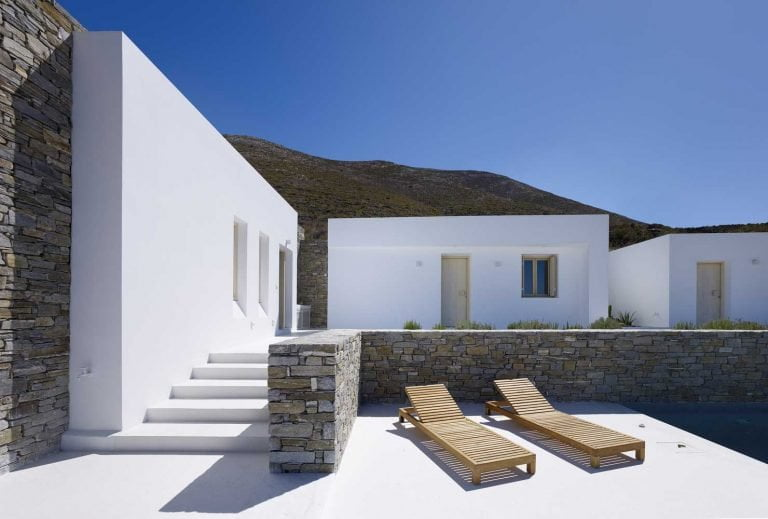 Beautiful territory of a private house