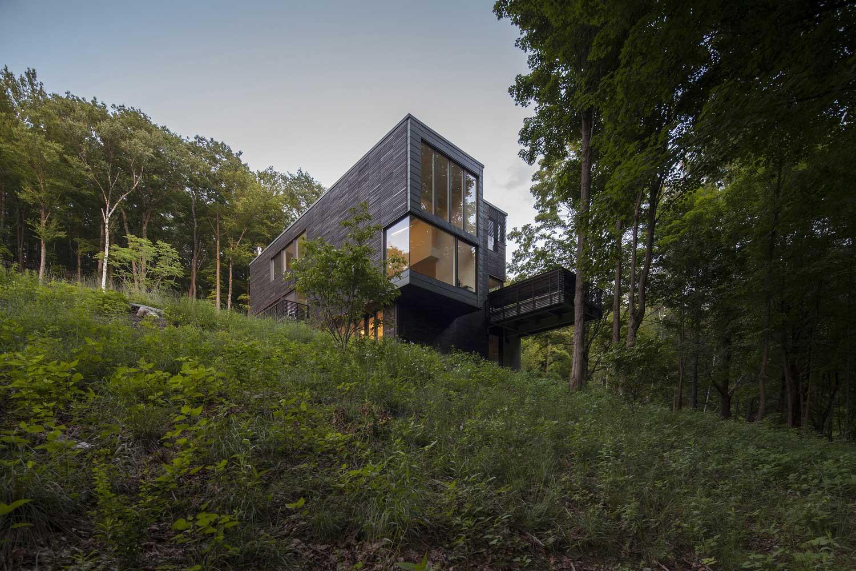 Простые формы + Большие размеры =  Красивые частные дома / Red Rock House, USA /